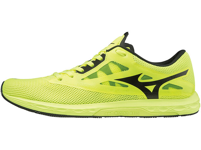 Mizuno Wave Sonic 2 Running Shoes Men, safety yellow/black/white